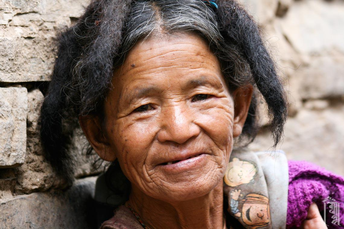 A Monpa grandmother
