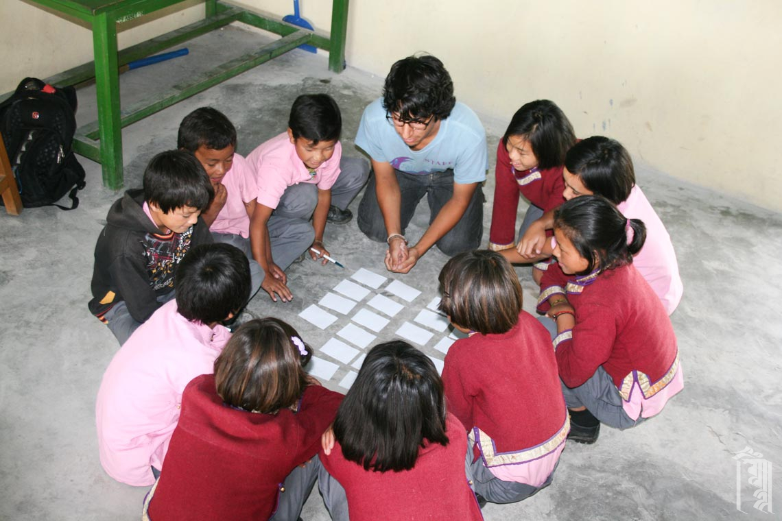 Class Games with a Volunteer